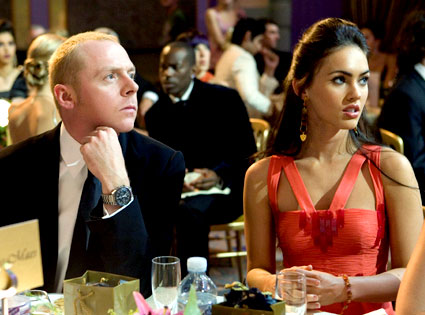 How to Lose Friends and Alienate People, Simon Pegg, Megan Fox