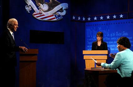 Jason Sudeikis, Tina Fey, Queen Latifah, Saturday Night Live