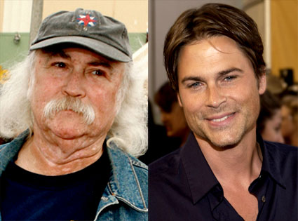 Rob Lowe, David Crosby