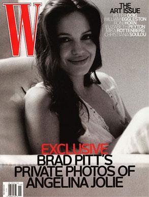 Angelina Jolie, W Magazine
