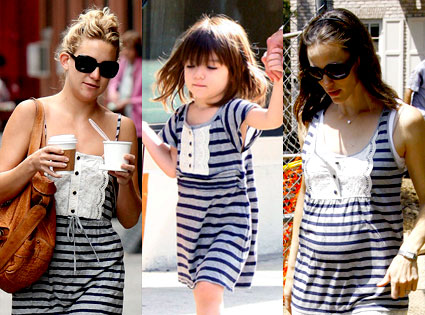 Jennifer Garner, Suri Cruise, Kate Hudson