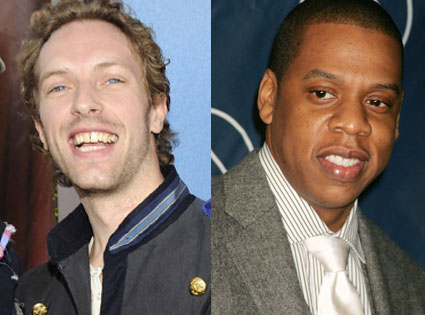 Jay Z, Chris Martin, Coldplay
