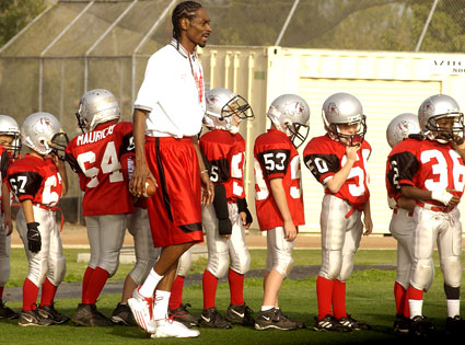 Snoop Dogg, Chino Hills Pop Warner Football