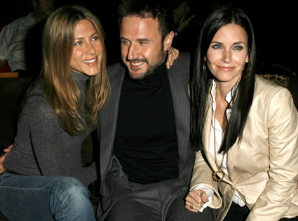 Jennifer Aniston, Courteney Cox Arquette, David Arquette