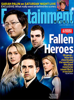 Heroes, Entertainment Weekly Cover