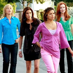 Desperate Housewives, Felicity Huffman, Teri Hatcher, Eva Longoria, Marcia Cross
