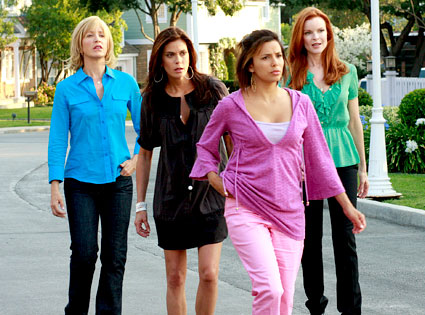 Desperate Housewives, Felicity Huffman, Teri Hatcher, Eva Longoria, Marcia Cross