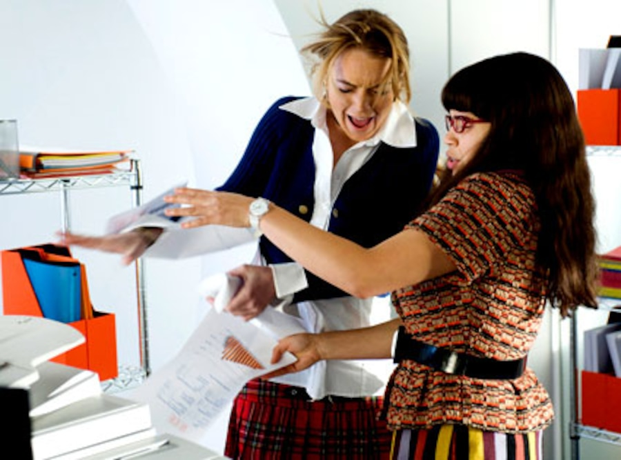 Ugly Betty, Lindsay Lohan, America Ferrera