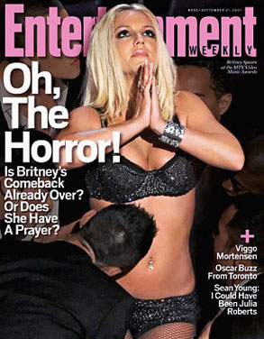 Britney Spears, Entertainment Weekly