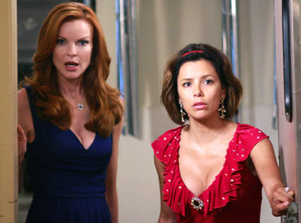 Marcia Cross, Eva Longoria, Desperate Housewives