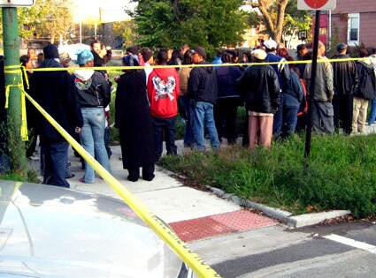 Onlookers, Hudson Murder Investigation