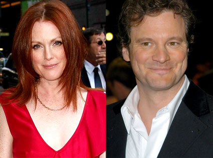 Julianne Moore, Colin Firth