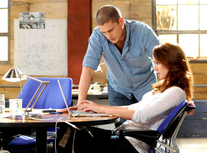 Prison Break, Wentworth Miller, Sarah Wayne Callies