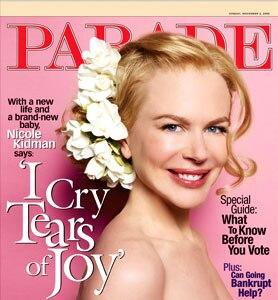 Nicole Kidman, Parade Magazine