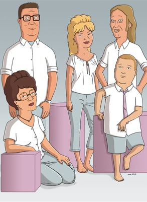 King of the Hill Cast