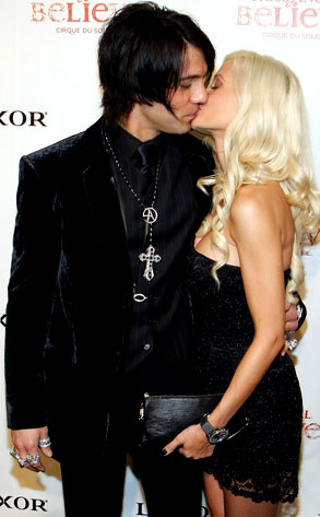 Holly Madison, Criss Angel
