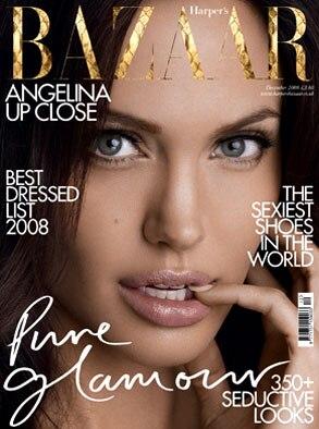 Angelina Jolie, Harper's Bazaar Magazine (UK)
