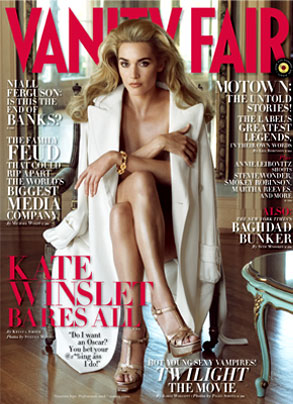 Kate Winslet, Vanity Fair Magazine