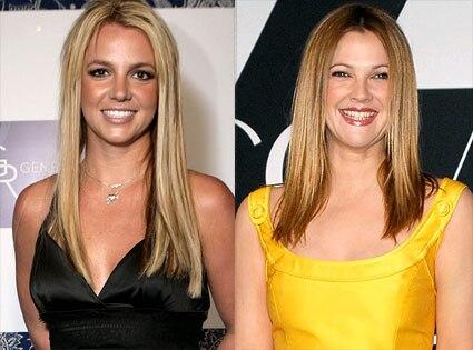 Britney Spears, Drew Barrymore
