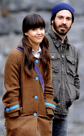 Jessica Alba, Chris Messina