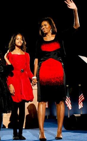 Malia Obama, Michelle Obama