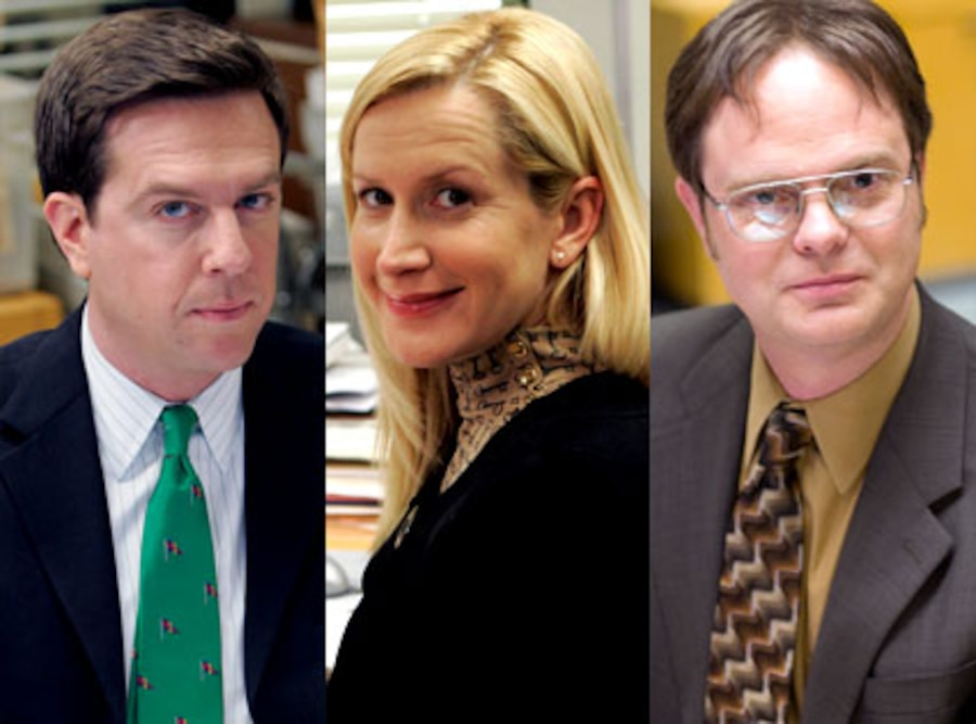 Ed Helms, Angela Kinsey, Rainn Wilson, The Office