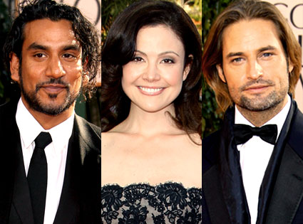 Naveen Andrews, Reiko Aylesworth, Josh Holloway