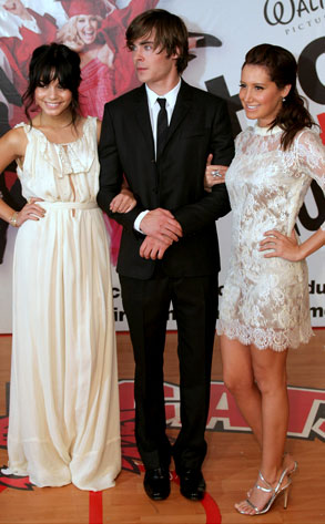 Vanessa Hudgens, Zac Efron, Ashley Tisdale