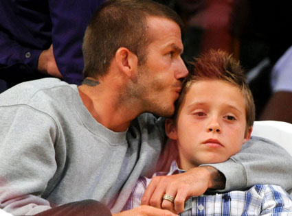 David Beckham, Brooklyn Beckham