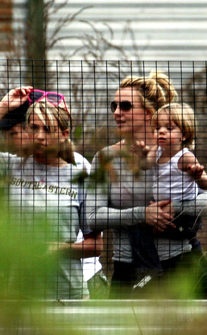 Britney Spears, Jayden James Federline, Jamie Lynn Spears