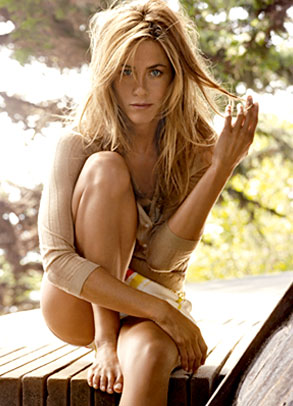 Jennifer Aniston, Vogue Inside