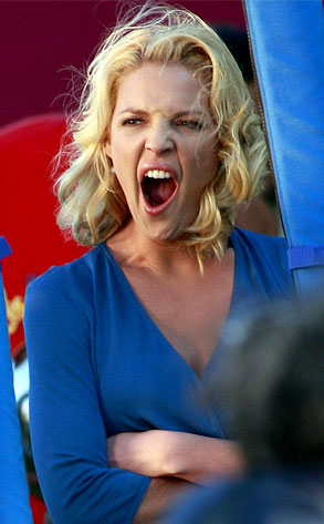 Katherine Heigl from Celebrity Yawners: Stardom's Exhausting! | E ...