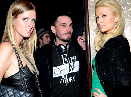 Nicky Hilton, DJ AM, Paris Hilton