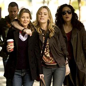 Grey's Anatomy, Ellen Pompeo, Justin Chambers, Sandra Oh, Melissa George