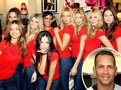 Victoria's Secret Angels, Alex Rodriguez