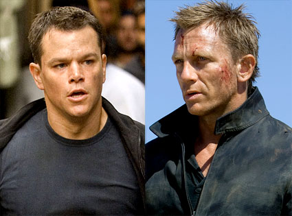 Daniel Craig, Matt Damon