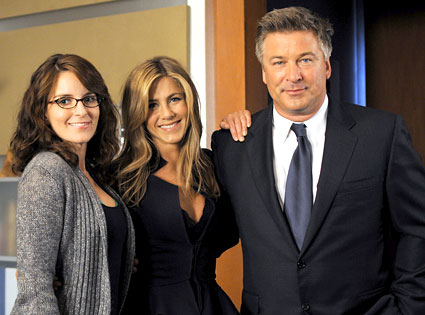 30 Rock, Tina Fey, Jennifer Aniston, Alec Baldwin