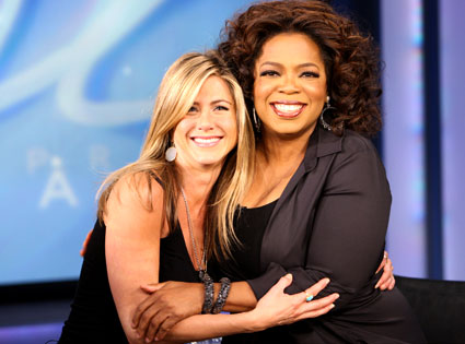Jennifer Aniston, Oprah Winfrey