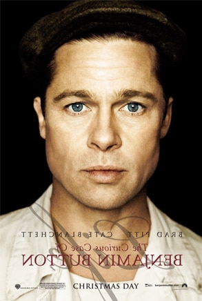 Curious Case of Benjamin Button Poster, Brad Pitt