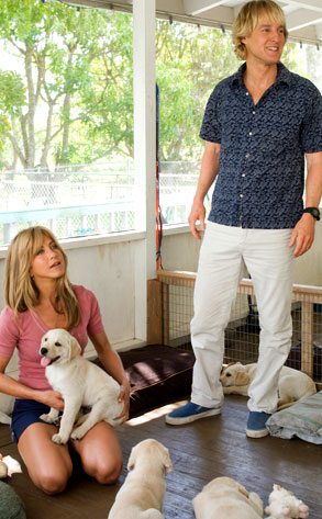 Owen Wilson, Jennifer Aniston, Marley and Me