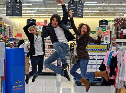 Brandi Cyrus, Justin Gaston, Miley Cyrus