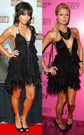 Vanessa Hudgens, Paris Hilton