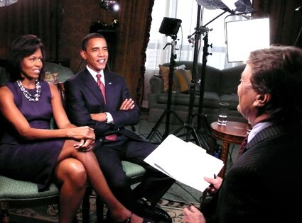 Michelle Obama, Barack Obama, Steve Kroft, 60 Minutes