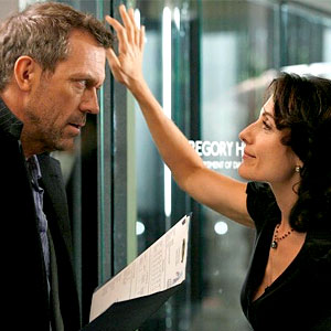 Lisa Edelstein, Hugh Laurie, House