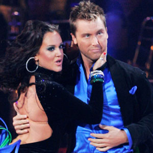 Lacey Schwimmer, Lance Bass, Dancing with the Stars
