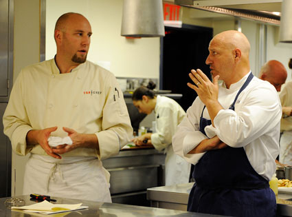 TOP CHEF, Hosea, Tom Colicchio