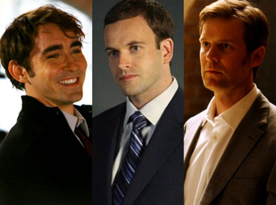 Lee Pace (Pushing Daisies), Jonny Lee Miller (Eli Stone), Peter Krause (Dirty Sexy Money)