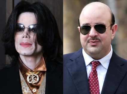 Michael Jackson, Sheikh Abdullah bin Hamad al-Khalifa