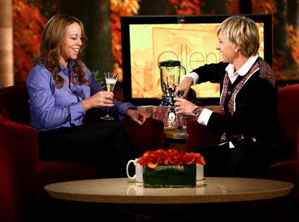 Ellen DeGeneres, Mariah Carey