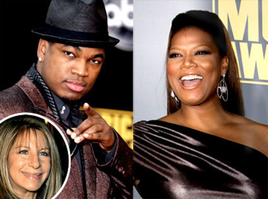 Queen Latifah, Ne-yo, Barbra Streisand